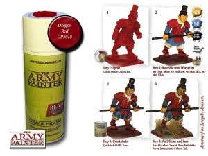 Army Painter Spray: Dragon Red 400ml
