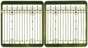 ETCHED BRASS Fence