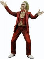 "Cult Classic: Icons Beetlejuice red tux figure 7"" Action Figure"