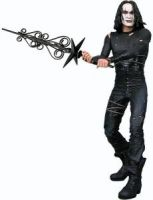 "Cult Classic Icons: The Crow Eric Draven 7"" Action Figure"