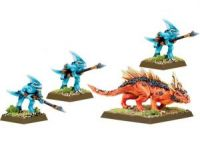Lizardmen Salamander Hunting Party