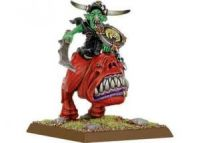 Night Goblin Warboss on Giant Squig