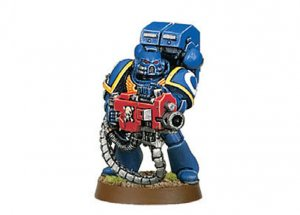 Space Marine with Heavy Bolter (Collectors)