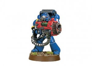 Space Marine with Plasma Cannon (Collectors)
