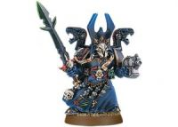 Chaos Space Marine Sorcerer with Force Sword