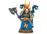 Chaos Space Marine Sorcerer with Force Axe
