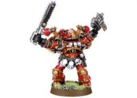 World Eaters Aspiring Champion with Bolt Pistol and Chainsword (Collectors)
