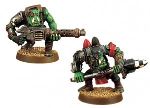 Ork Boyz with Assault Weapons (Collectors)