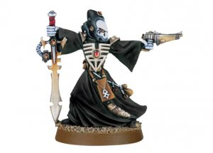 Eldar Warlock with Witch Blade and Skuriken Pistol