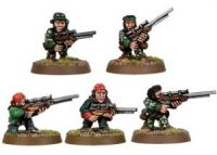 Imperial Guard Ratling Snipers (5 random models) (Collectors)