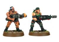 Imperial Guard Classic Catachan Jungle Fighter Assault Weapons (Collectors)