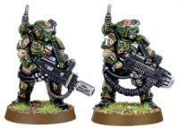 Imperial Guard Cadian Kasrkin with Plasma Gun and Meltagun (Collectors)
