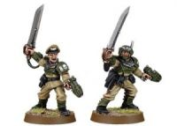 Imperial Guard Cadian Officers with Power Swords (Collectors)