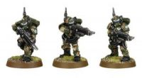 Cadian Kasrkin Troops (3 random models) (Collectors)