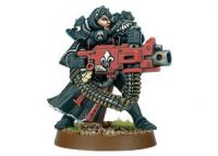 Battle Sister with Heavy Bolter (Collectors)