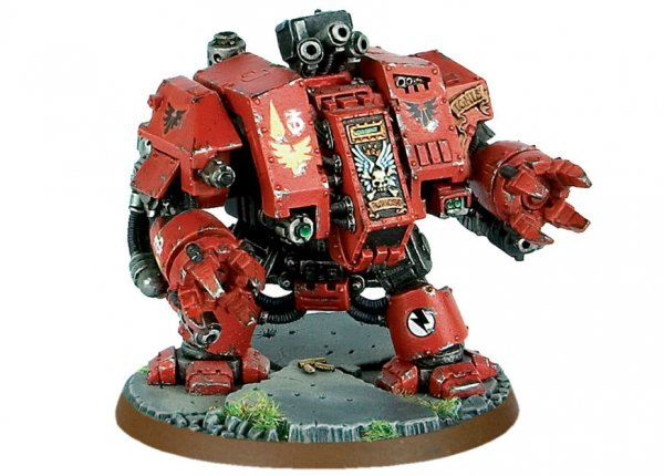Blood Angels Furioso Dreadnought (Collectors) ― HobbyWorld