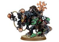 Ork Big Mek with Shokk Attack Gun (Finecast)