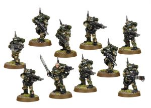 Imperial Guard Cadian Kasrkin Squad (Collectors) ― HobbyWorld