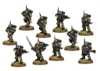 Imperial Guard Cadian Kasrkin Squad (Collectors)