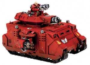Blood Angels Baal Predator (Collectors)