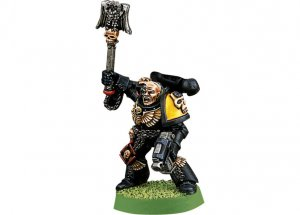 Space Marine Imperial Fists Chaplain (Collectors)