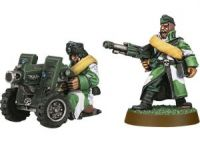 Imperial Guard Valhallan Heavy Bolter Team (Collectors)