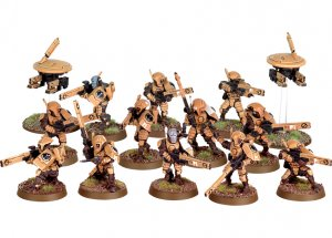 Tau Empire Fire Warrior Team