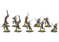 Wood Elf Wardancers (10 models)