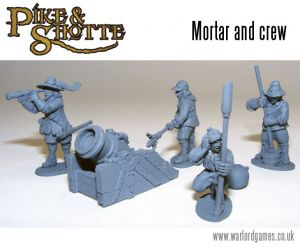 Pike&Shotte Mortar & Crew ― HobbyWorld