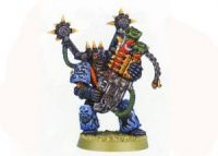 Chaos Space Marines Noise Marine With Blastmaster (Rare, OOP)