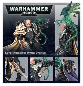 Ordo Xenos Lord Inquisitor Kyria Draxus