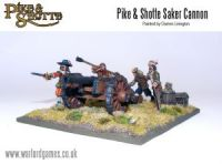 Pike&Shotte Saker Cannon + Crew