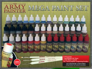 Army Painter: Warpaints Mega Paint Set 2013